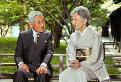 Empress Michiko, Emperor Akihito