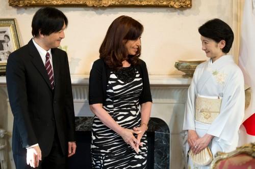 Akishino, Cristina Fernandez, Kiko
