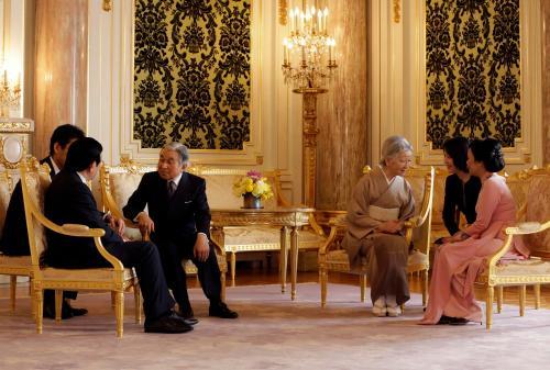 Akihito, Michiko, Truong Tan Sang, Mai Thi Hanh