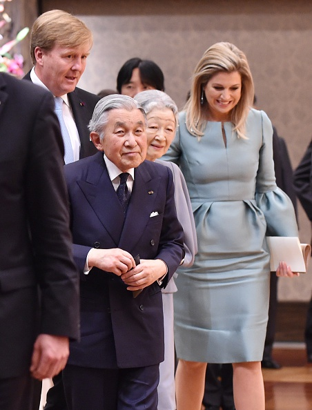 JAPAN-NETHERLANDS-DIPLOMACY-ROYALS